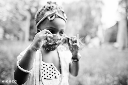 622ff431b513 ... Amazing Beautiful African American Baby Girl With Sunglasses Having Fun  Stock Photo   More Pictures of
