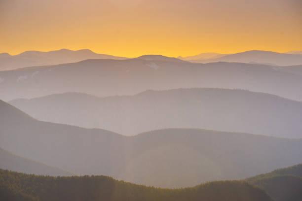 Amazing Beautiful mountain landscape. stock photo
