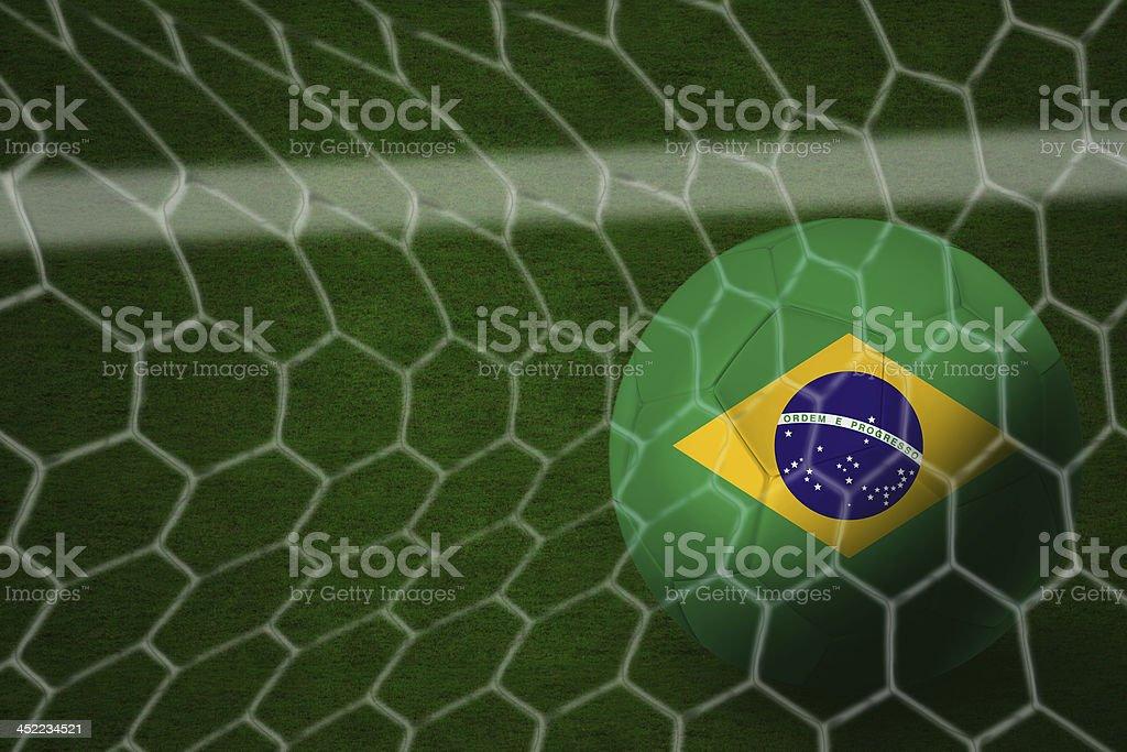 Amazing Brazilian Goal royalty-free stock photo