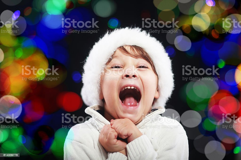 amazing christmas concept stock photo