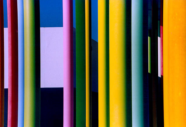 Erstaunlich bunten Säulen – Foto