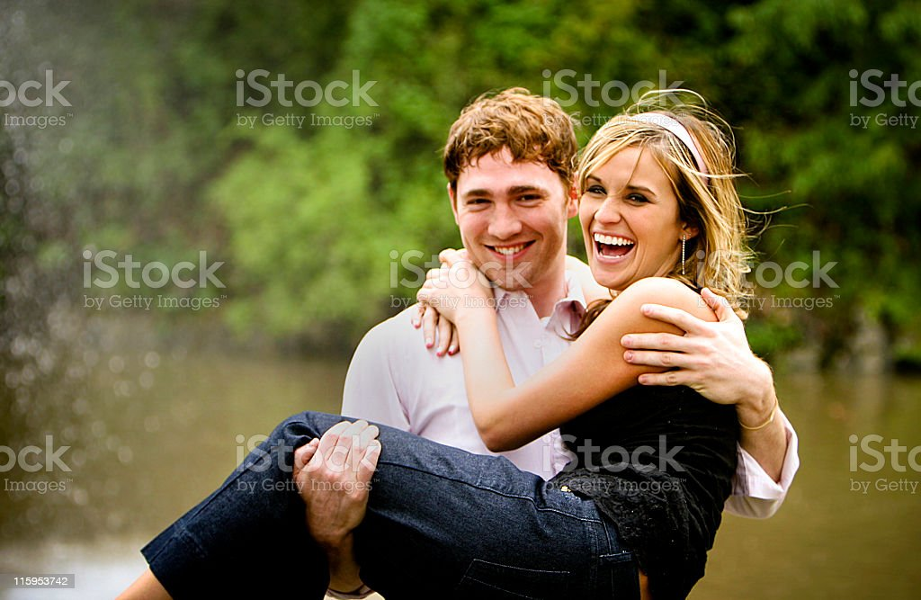 amazing couple portraits royalty-free stock photo