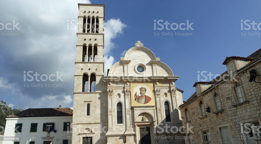 amazing croatia stock photo