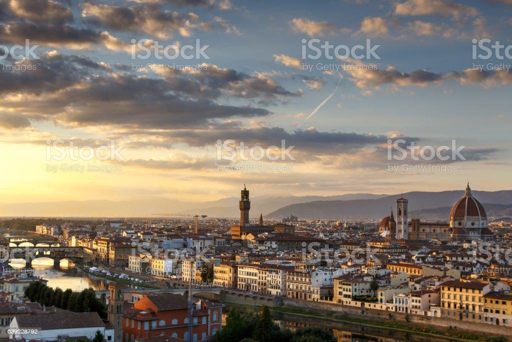 Amazing Florence, Italy stock photo