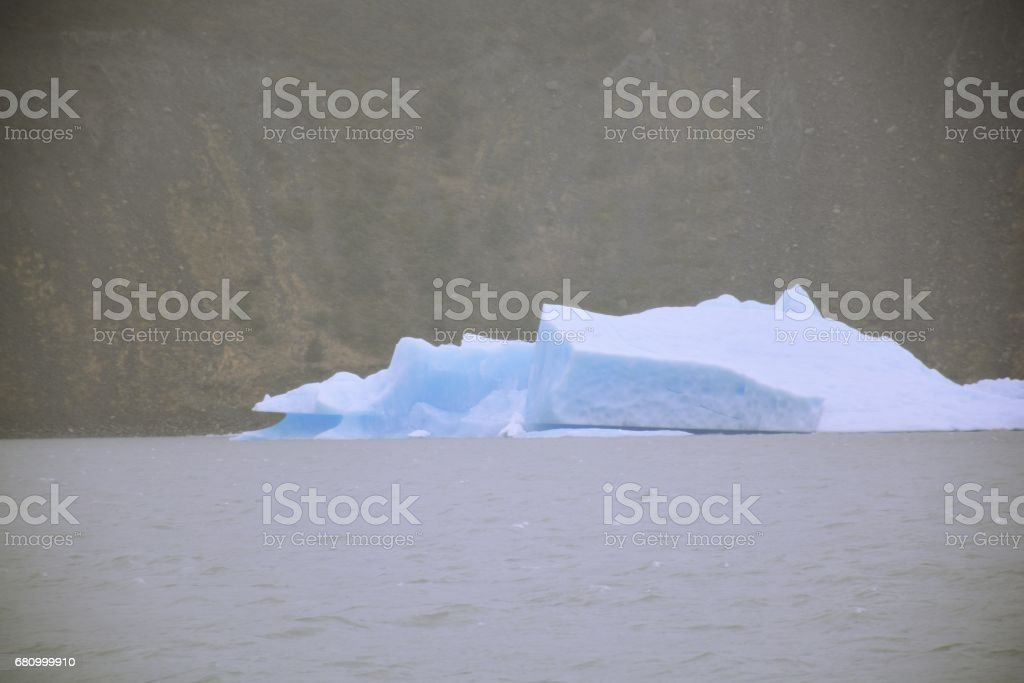 Amazing glaciers at Patagonia in Chile royalty-free stock photo