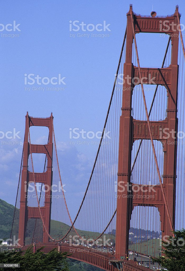 Amazing Golden Gate Bridge 4 royalty-free stock photo