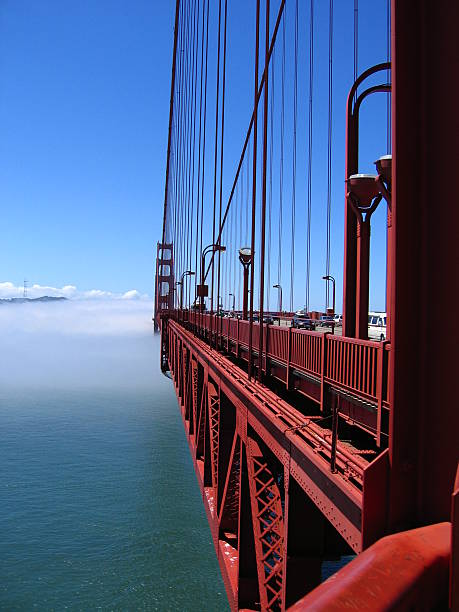 Amazing Golden Gate Bridge stock photo