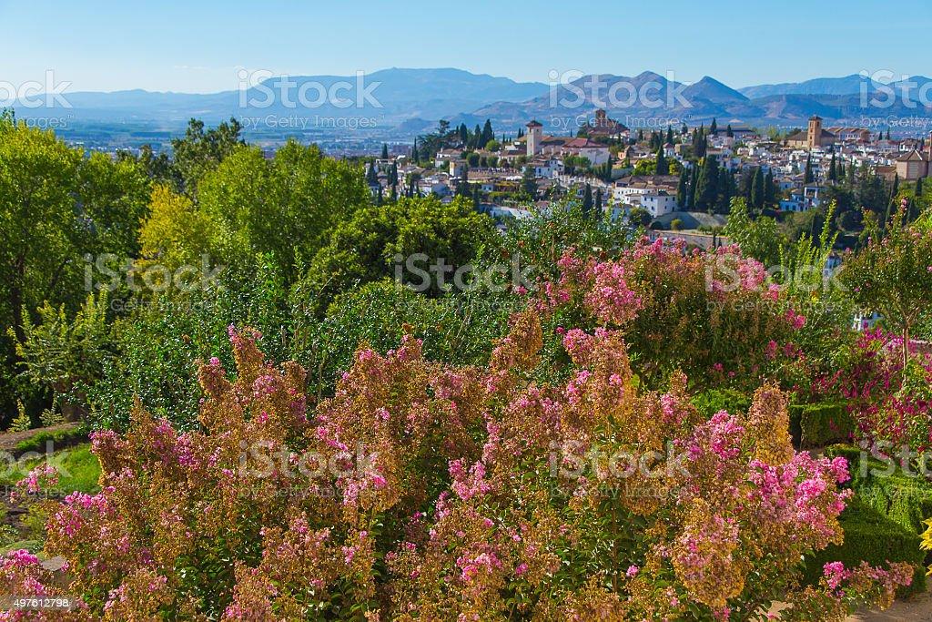 Amazing Granada, Spain. stock photo