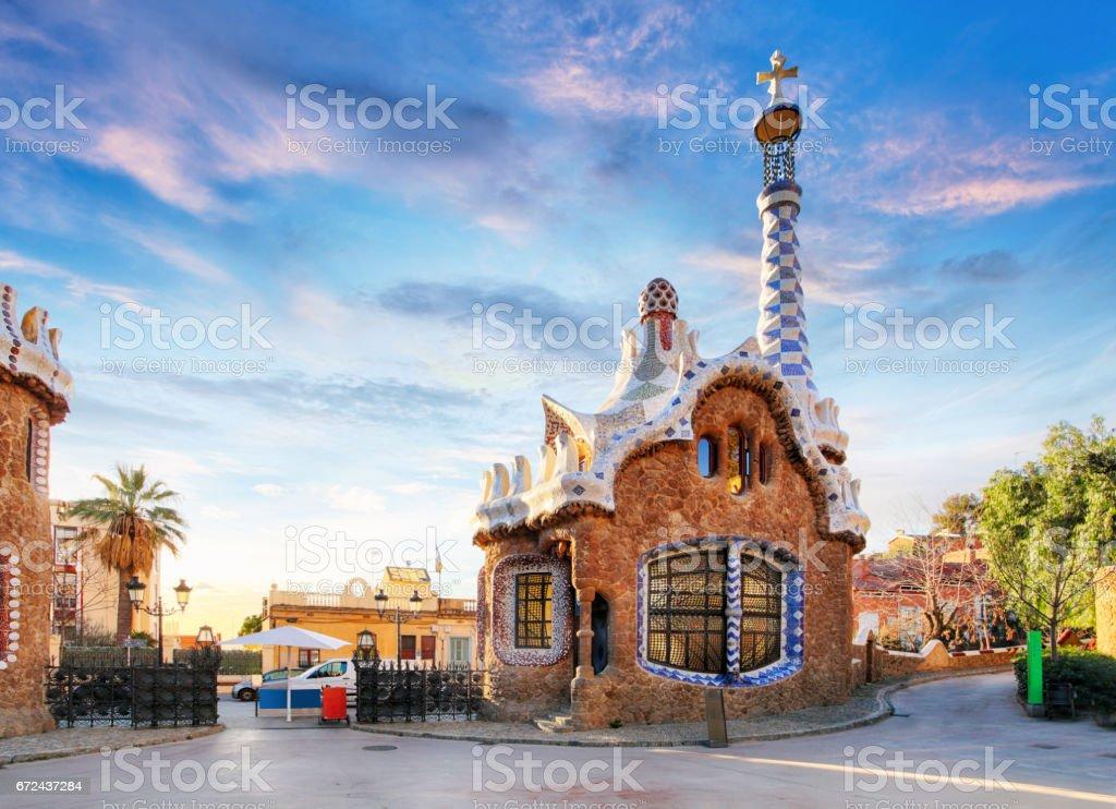 amazing  in Barcelona stock photo