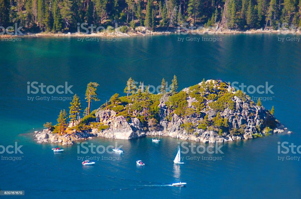 Amazing Island stock photo