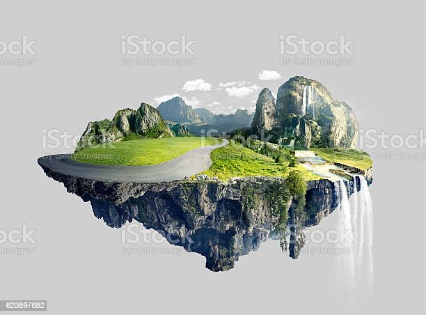 Amazing island with grove floating in the air picture id623897682?b=1&k=6&m=623897682&s=612x612&h=n8fz3uj7sjbsvzl geo18osvbznucf0nqiubzs3o5zs=