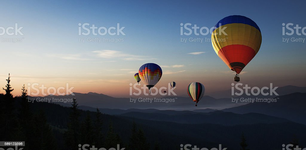 amazing journey stock photo