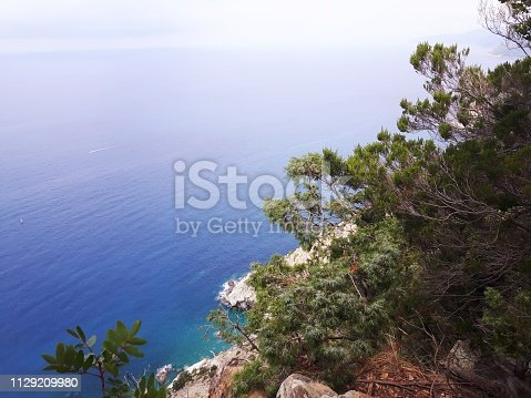 istock Amazing lakes and rivers in black and white background 1129209980