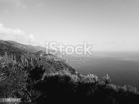 istock Amazing lakes and rivers in black and white background 1129210127