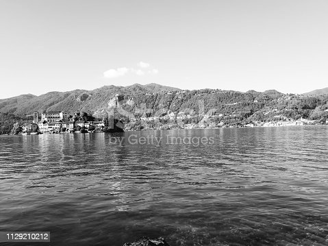 istock Amazing lakes and rivers in black and white background 1129210212