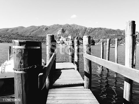 istock Amazing lakes and rivers in black and white background 1129210870