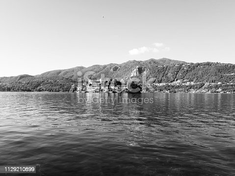 istock Amazing lakes and rivers in black and white background 1129210899