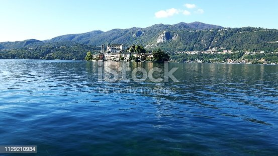 istock Amazing lakes and rivers in black and white background 1129210934