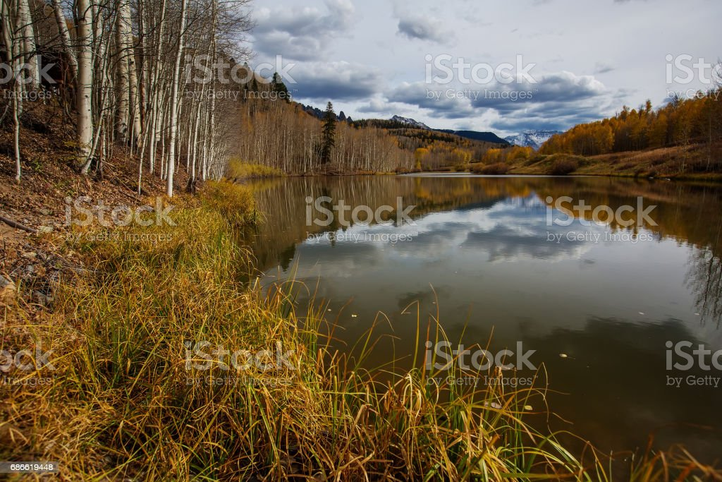 Amazing landscapes of San Juan national forest in Colorado, USA photo libre de droits