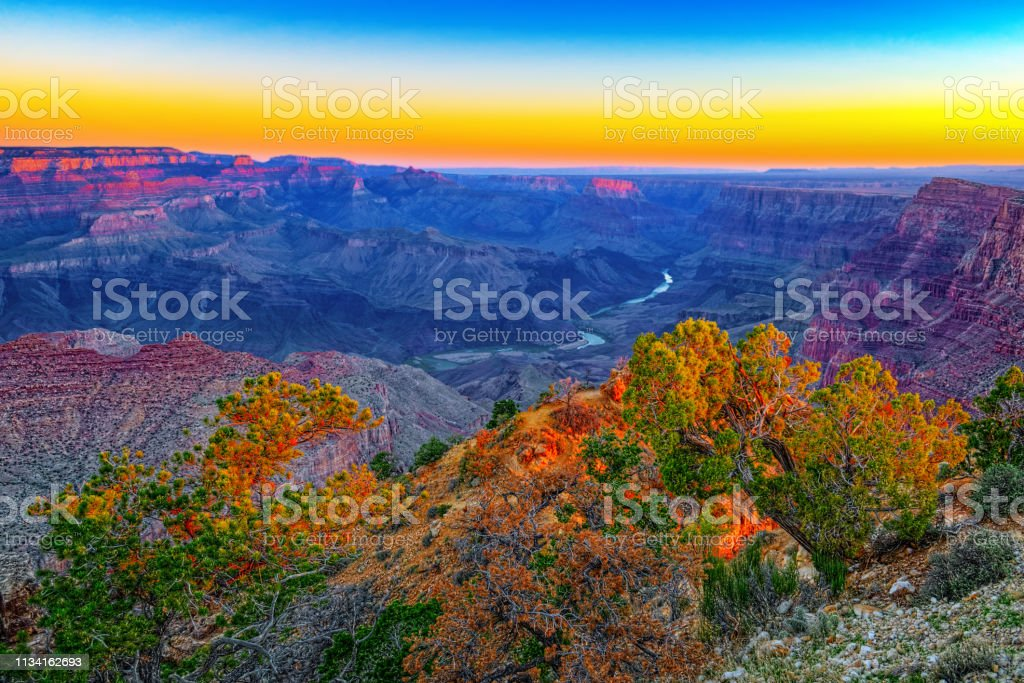 Amazing natural geological formation - Grand Canyon in Arizona,...