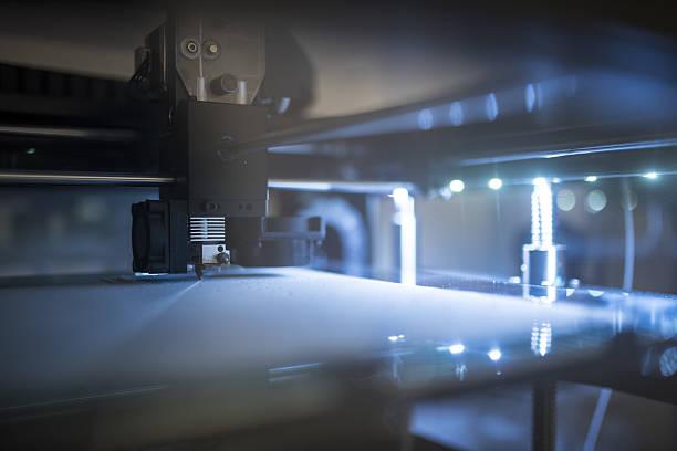 Amazing new 3D technology stock photo