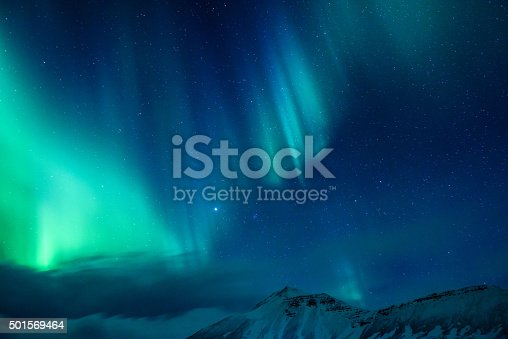 istock Amazing Northern light 501569464