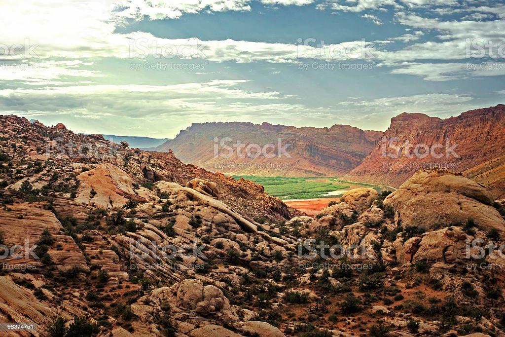 Amazing outdoors in Utah royalty-free stock photo