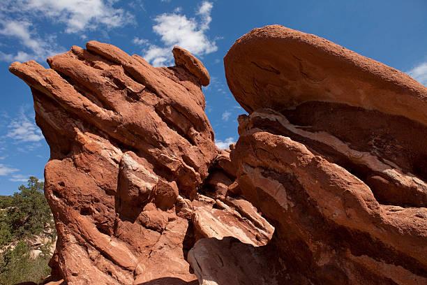 Increíble formación de roca - foto de stock