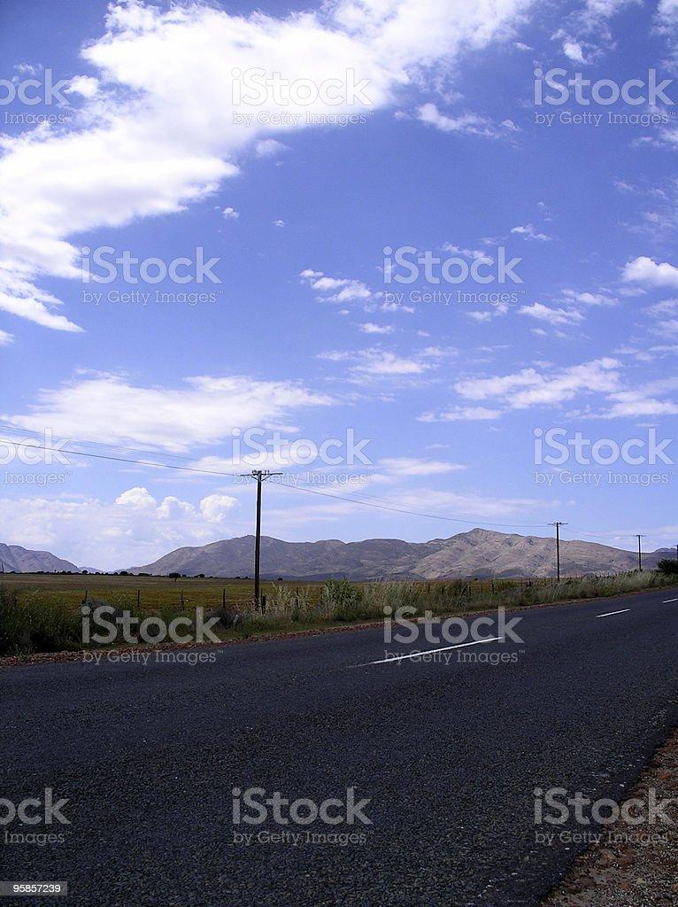 Fantastische Himmel in einer ländlichen Gegend in Südafrika – Foto