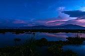 istock amazing sunset on the Chapala Lake in Ajijic Mexico 1299340049