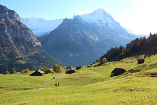 Increíble naturaleza Suiza - foto de stock