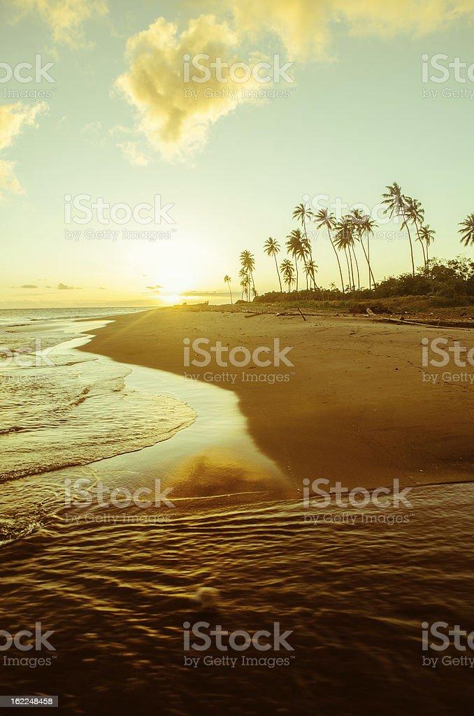 amazing tropical beach scenery royalty-free stock photo