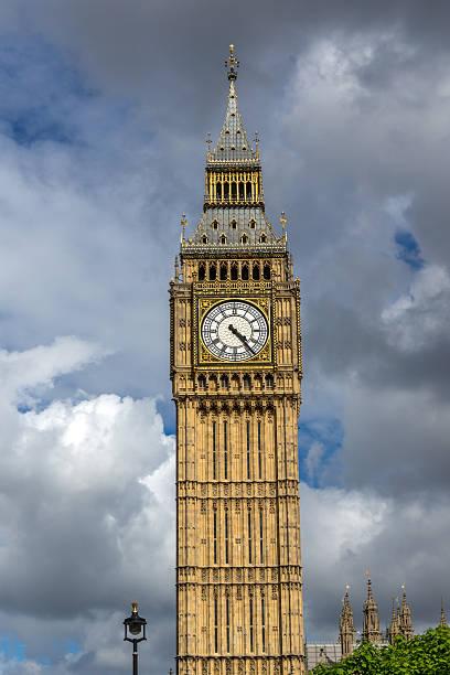Amazing view of Big Ben, London, England stock photo