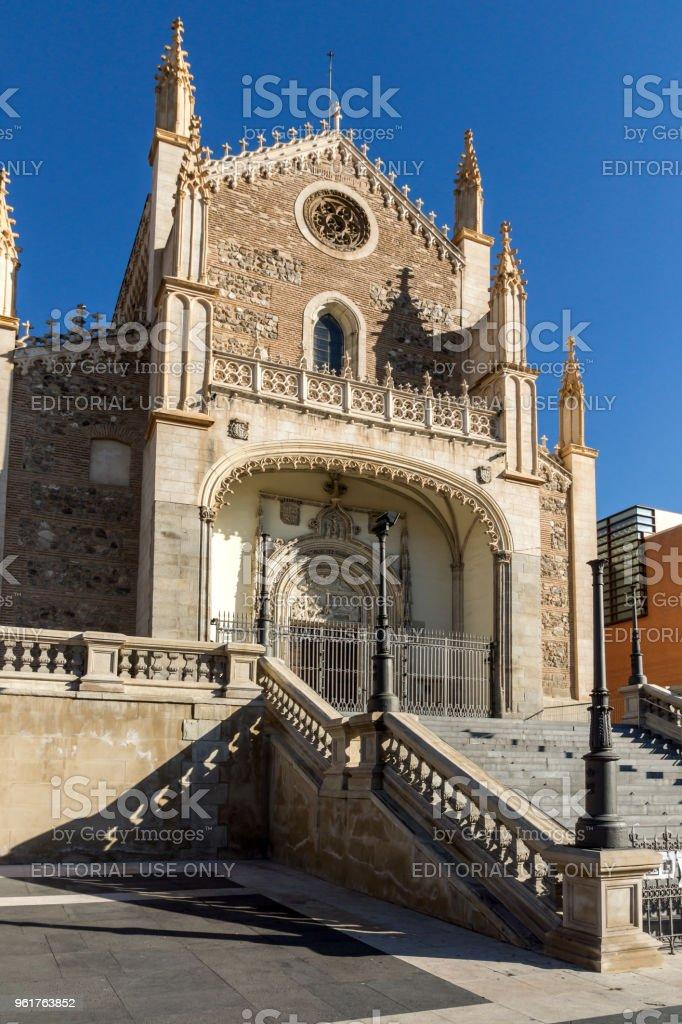 Increible Vista De La Iglesia San Jeronimo El Real En La Ciudad De