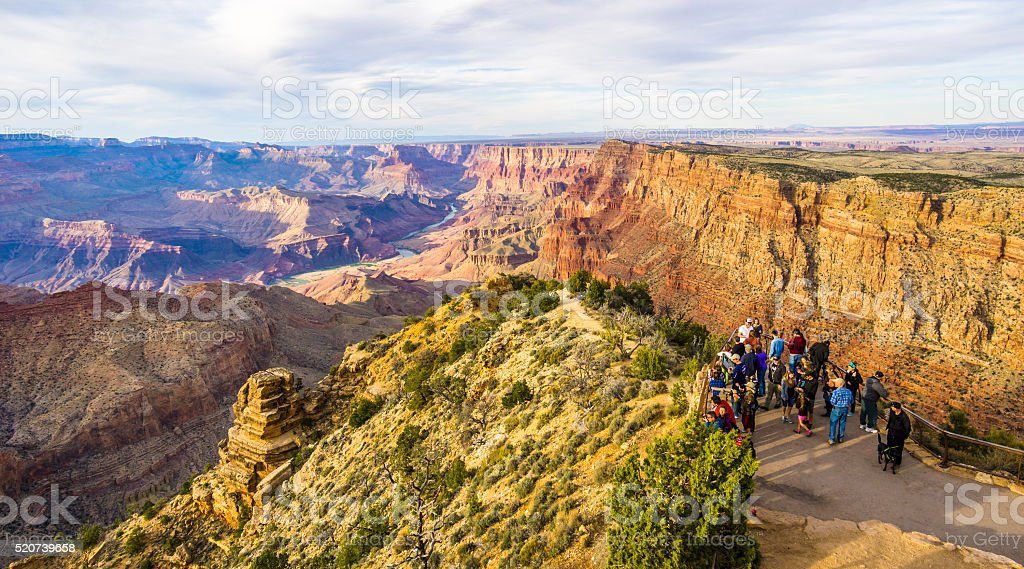 Amazing view of the grand canyon national park stock photo