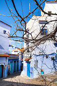 istock Amazing view of the street in the blue city of Chefchaouen. Location: Chefchaouen, Morocco, Africa. Artistic picture. Beauty world 1079780114