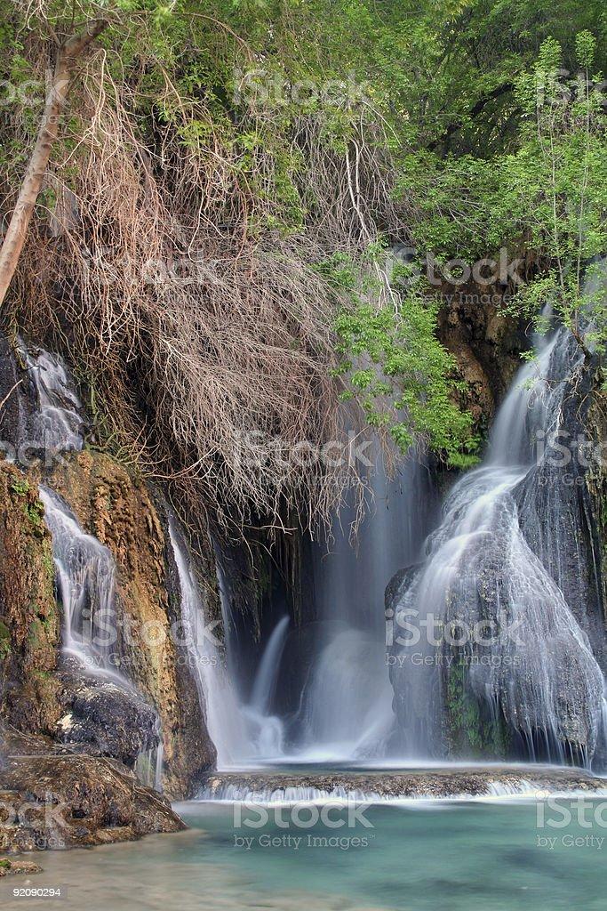 Amazing Waterfalls royalty-free stock photo