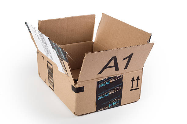 Amazon Box stock photo