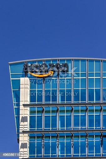 496586115 istock photo Amazon Building 496586115