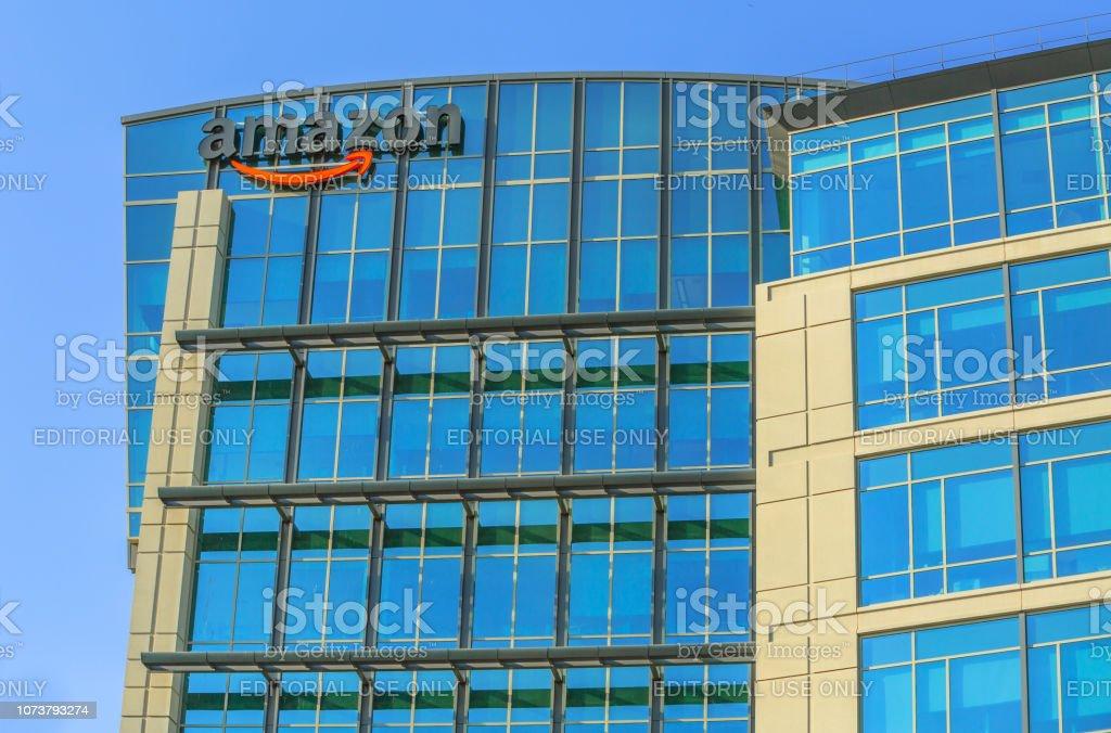 Amazon Campus California stock photo