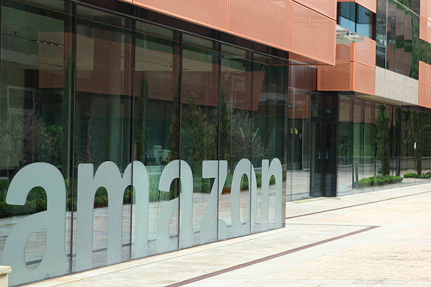 Amazon EU S.a.r.L Headquarters in Luxembourg stock photo