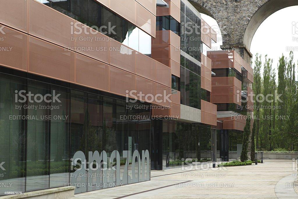 Amazon EU S.a.r.L Headquarters in Luxembourg stock photo