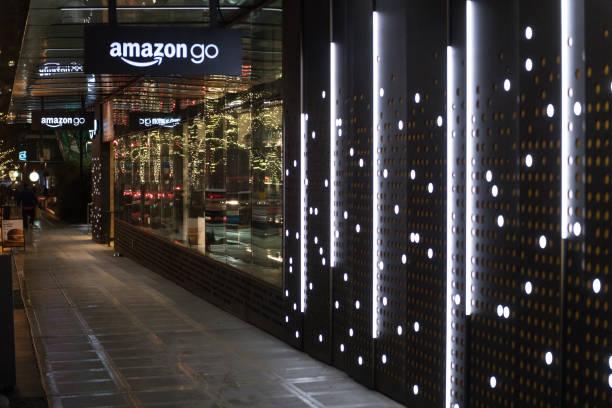 Amazon Go stock photo