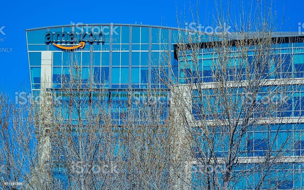 Amazon Lab 126 - Sunnyvale, CA stock photo