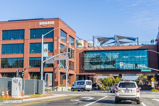 istock Amazon office building 1091538208
