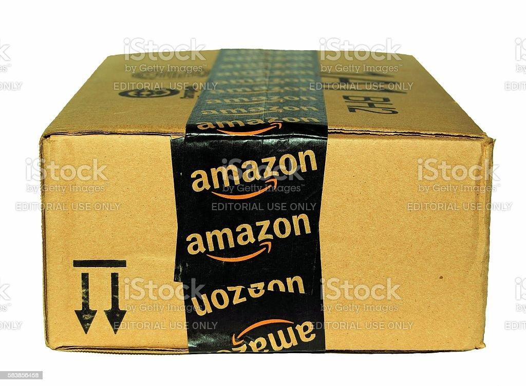 Amazon Package stock photo