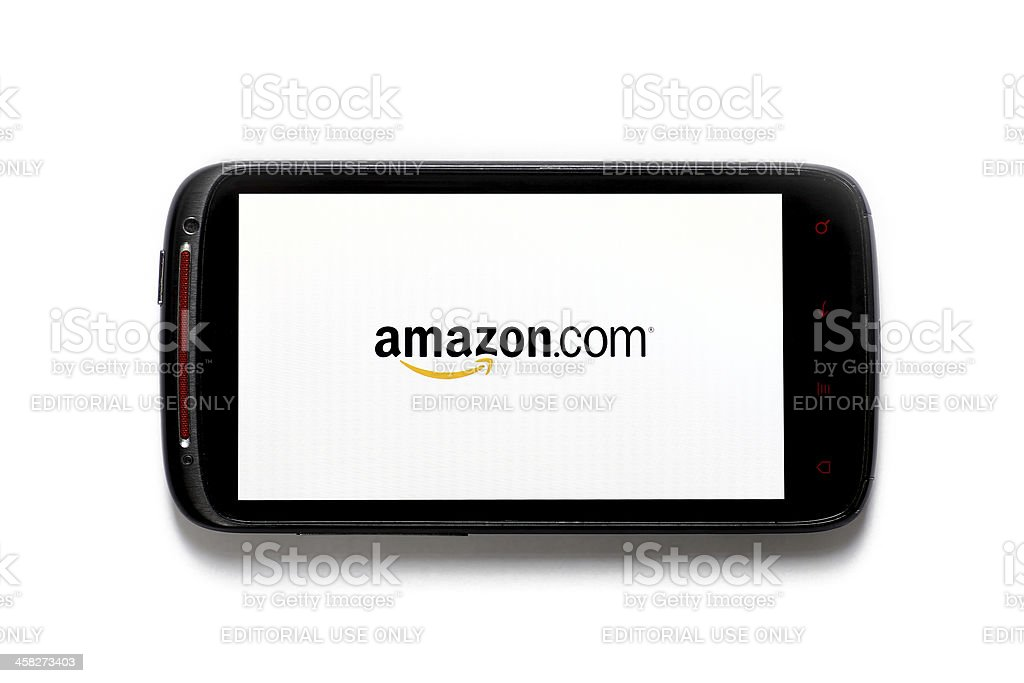 Amazon phone stock photo