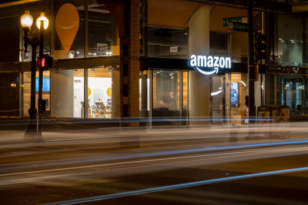 Amazon Pick Up stock photo