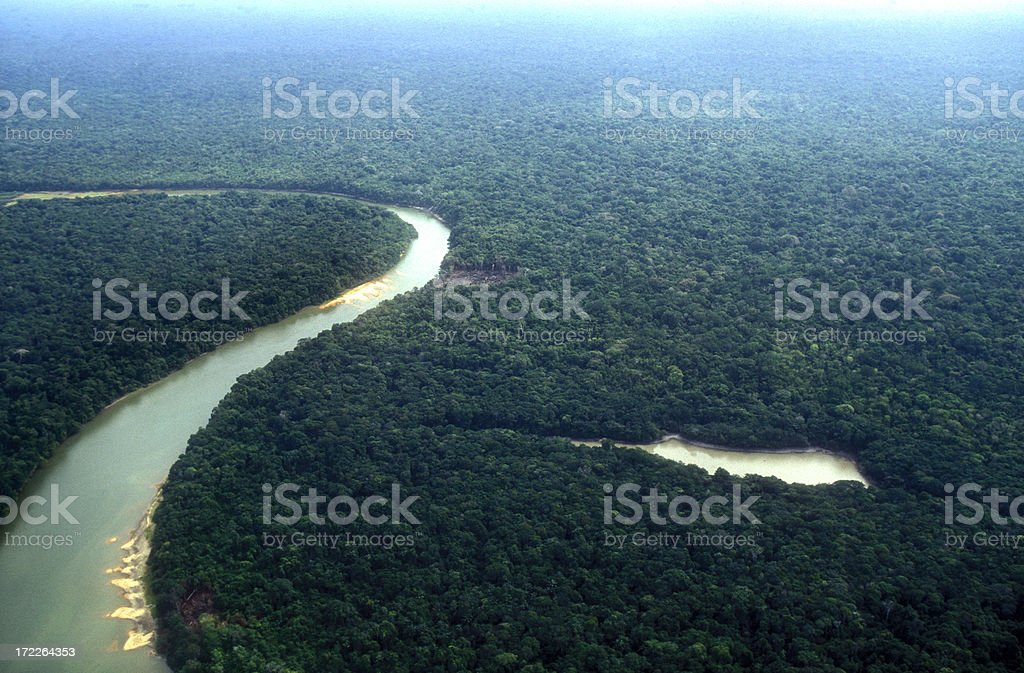 Amazon planet stock photo