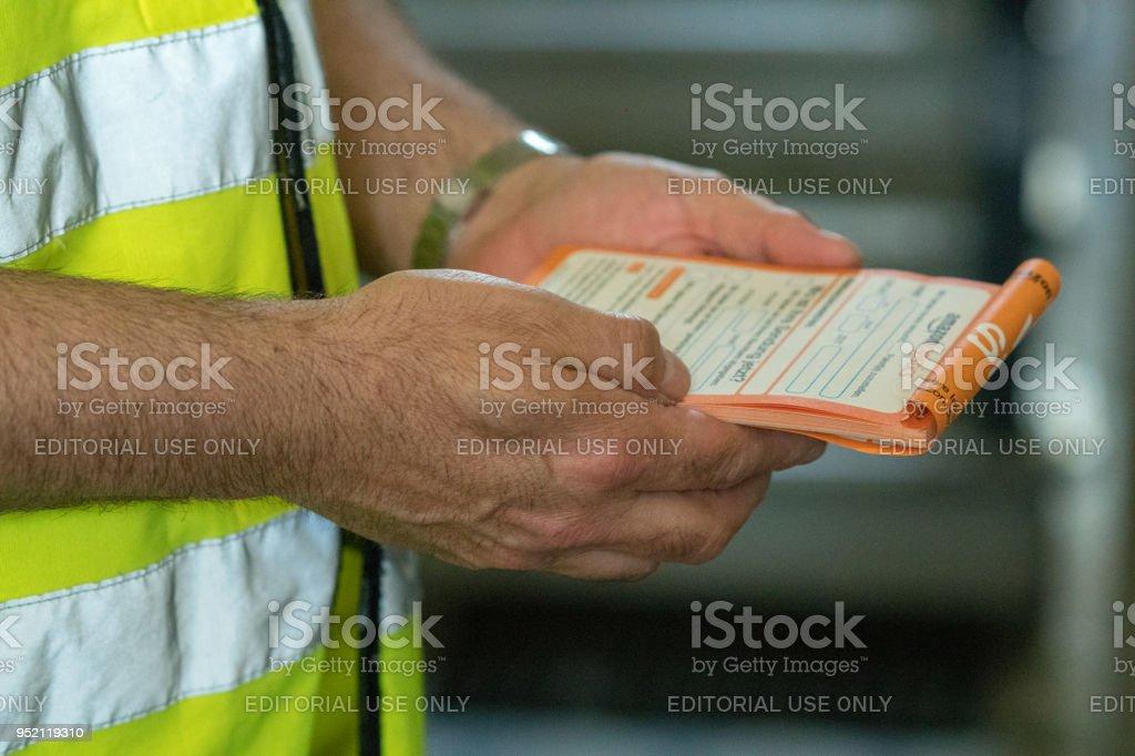 Amazon proof of delivery receipt – zdjęcie